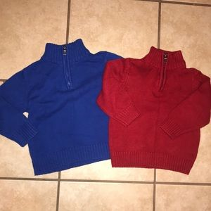 Two sweaters size 2t